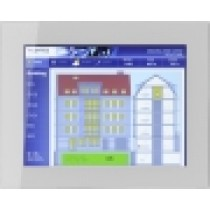 "Touch Panel 15"" frameless glass, silver"
