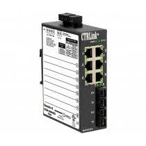6-port 100BASE-TX, 2-port 100BASE-FX SC
