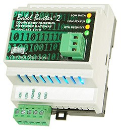 Non-Bound LonWorks to Modbus RTU gateway