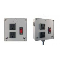Enclosed Power Control Cntr 4A Breaker/S