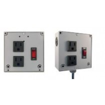 Enclosed Power Control Cntr, 4A Breaker/