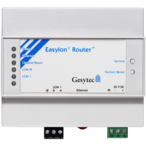 Easylon Router+1xTP/FT-10,1xLON/IP 24VDC