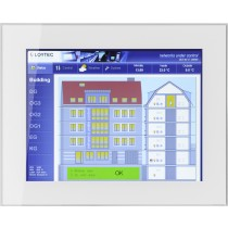 "Touch Panel 15"" frameless glass, white"