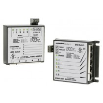 5-Port 10/100Mbps Panel Mount BAS Switch