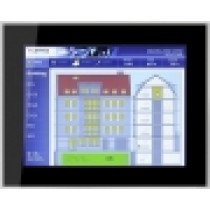"Touch Panel 15"" frameless glass, black"